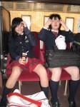 Japonų mokinukės