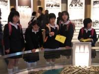 vaikai Hiroshimos Taikos Atminimo muziejuje