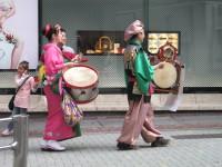 Gatvės muzikantai, Shibuya