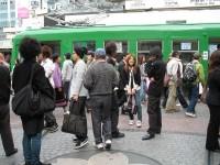 Shibuya savaitgaliais