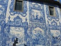 Mėlynos Portugalijos plytelės